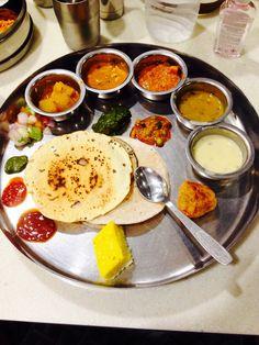 Indian Dishes - Rajasthani Thali - FoodPorn