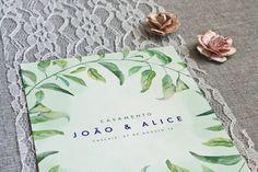 A Alice e o João deram-me o privilégio de criar os convites para o evento das suas vidas, o seu casamento. Para encomendarem os vossos convites de casamento, enviem mail para madebycatia@gmail.com.…