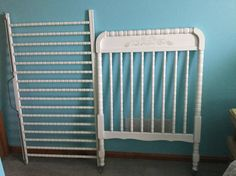 1980's Jenny Lind Crib Rails & Headboards by SimplyVintageandMore