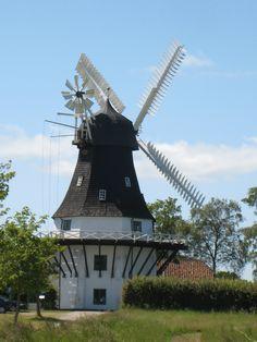 Old Windmill   Fyn Denmark