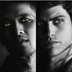 Fire and ice yet so perfect together Teen Wolf, Mathew Daddario, Klaus From Vampire Diaries, Shadowhunters Series, Magnus And Alec, Clary And Jace, Alec Lightwood, Clace, A Series Of Unfortunate Events