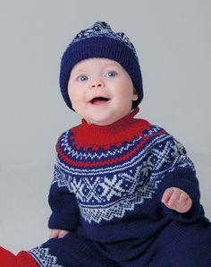 Genser, lue og sokker / Pullover, hat, socks