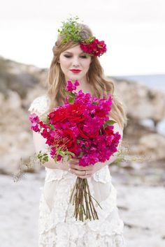 Top 10... Bright wedding bouquets