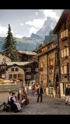 Zermott, Switzerland.