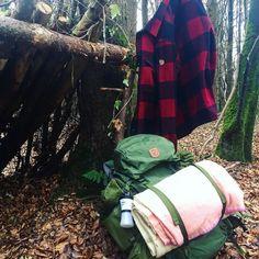 #fjallraven #kaipak #canadashirt #bushcraft #ireland #camp