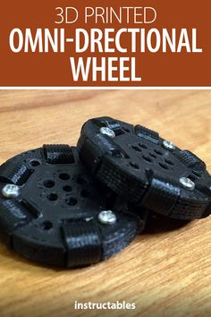 Build a 3D printed omni-directional wheel for use as a fidget toy or as an omniwheel. #Instructables #3dprint #mechanism Fidget Toys, Arduino, Bracelet Watch, 3d Printing, Printed, Diy And Crafts, Watch