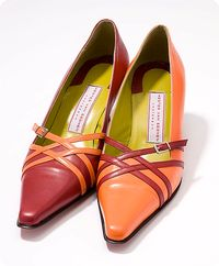 """Hester van Eeghen.  Are these a """"pair"""" of shoes, or just the colours they come in?"""