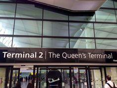 Terminal 2 - The Queen's Terminal. London Heathrow Airport
