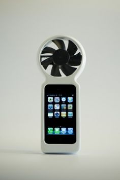 Charge your iPhone with wind power.  This would be cool to have and there is plenty of wind!