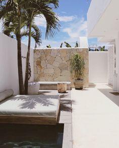 Casa Palma Bali (@casapalma.bali) posted on Instagram • Aug 4, 2020 at 9:57pm UTC Decor, Furniture, Outdoor Decor, Daybed, House, Outdoor Bed, Home, Palm, Outdoor Furniture