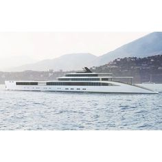 The absolutely stunning motor yacht, Soul to Soul. A 110 meter concept by the Netherlands design company, Sinot who also designed Musashi.