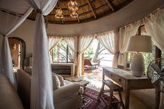 Tongabezi Lodge - The Nut House exclusively finished using Cemcrete's floor, wall and pool finishes.