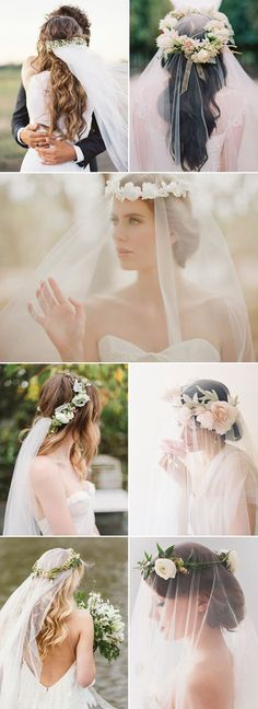 Romantic Long Wedding Hairstyles 2018 - Curls, Half Up, Updos, Boho, Veils - The Right Hair Styles Veil Hairstyles, Wedding Hairstyles For Long Hair, Winter Hairstyles, Hairstyles 2018, Bridal Hairstyles, Half Up Curls, Long Curls, Long Bridal Hair, Wedding Hairstyles Half Up Half Down