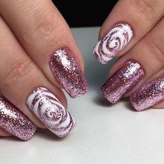 Best Nail Art – 48 Best Nail Art Designs for 2019 – Spring Nails Beste Nail Art – 48 beste. Pink Nail Designs, Best Nail Art Designs, Acrylic Nail Designs, Acrylic Nails, Nails Design, Latest Nail Designs, Fingernail Designs, Glitter Nails, Fun Nails