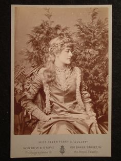 Ellen Terry as 'Juliet' (© The Rob Dickins Collection, Watts Gallery)