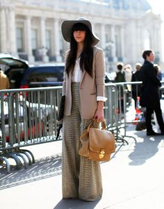 My Secret Agent Lover Man: Street Style from Paris Fashion Week