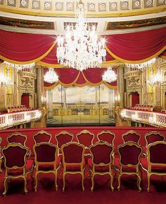 Schönbrunn Palace Theater - If you want to live like an emperor or empress for some days, feel free to contact us.at/Suite-Schloss-Schoenbrunn/en/ Sissi, Theater, Monuments, Visit Austria, Carinthia, Palace Interior, Danube River, Le Palais, Kaiser
