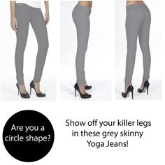 Perfect for a circle shape! Circle Shape, Triangle Shape, Killer Legs, Inverted Triangle, Girls Shopping, A Boutique, Body Shapes, Geek Stuff, Skinny Jeans