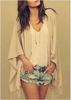 Great look for summer! Simple and chic!