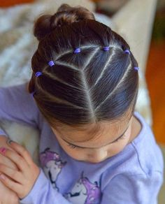 Cute Toddler Hairstyles, Easy Little Girl Hairstyles, Natural Hairstyles For Kids, Cute Girls Hairstyles, Kids Braided Hairstyles, Box Braids Hairstyles, Natural Hair Styles, Long Hair Styles, Children Hairstyles