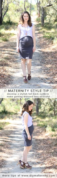 Maternity style tips from www.diymaternity.com