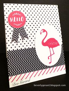 A Pop of Hello! FS488 by TexasGrammy - Cards and Paper Crafts at Splitcoaststampers
