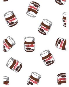 Nutella wallpaper.