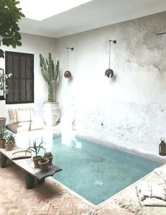 Small Inground Pool: 25 Admirable Ideas for a Narrow Garden. , ideas inground small backyards Small Inground Pool: 25 Admirable Ideas for a Narrow Garden Small Inground Pool, Small Swimming Pools, Small Backyard Pools, Backyard Pool Designs, Small Pools, Swimming Pool Designs, Small Backyards, Patio Design, Backyard Patio