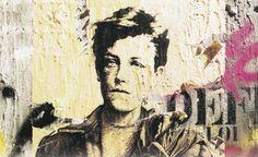 .        Cabellos rubios mezclados con su aliento vital. Hidrógeno blanco. Rimbaud. Salvador de los científicos olvidados: los alquimistas. La alquimia de la palabra. El poder de la palabra.Los disparos de los rayos del amor en las ceremonias obscenas  no dejan marcas doradas de prueba. Rimbaud el mortificado sin sombra. Rimbaud ¿fue una piedra rodante perseguida como todos los profetas ? O fue un joven demasiado maldito.