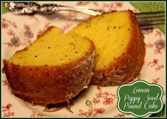 Sweet Tea and Cornbread: Lemon Poppy Seed Pound Cake!