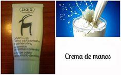 Crema de manos concentrada de leche de cabra de Ziaja