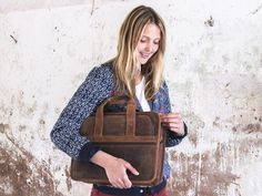Ladies can rock the Citylander too! Our Womens Leather Laptop Briefcase has ample space for a laptop and more https://www.scaramangashop.co.uk/item/623/96/Leather-Work-Bags/Citylander-Womens-Leather-Laptop-Briefcase.html