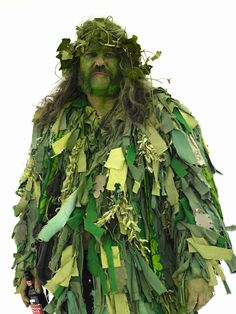 The Green Man. British Folklore Project A | Henry Bourne