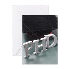 stock image of education with alphab Greeting Card for