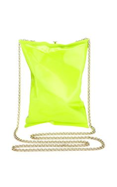 Neon Yellow Crisp Packet Clutch by Anya Hindmarch for Preorder on Moda Operandi Neon Clutch, Yellow Clutch, Yellow Handbag, Green Purse, Clutch Bag, Purse Crossbody, Anya Hindmarch Handbags, Yellow Purses, Purses