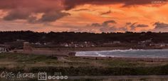 Salmon pink skies over Vazon tonight on this the last day of BST. Don't forget to put your clocks back before you go to bed! #Guernsey #GreatThings  Link to the whole collection of 'Georgie's Pic Of The Day' :-http://chrisgeorge.dphoto.com/#/album/4daaes  Picture Ref: 24_10_15 — in Guernsey.