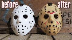 Halloween Prop, Jason Halloween Mask, Halloween Lawn, Halloween Season, Holidays Halloween, Halloween Themes, Halloween Crafts, Halloween Decorations, Adornos Halloween