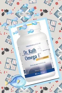 Omega E od Dr. Rath obsahuje rybí olej z morských rýb s obsahom kyseliny dokozahexaénovej (DHA) a kyseliny eikozapentaénovej (EPA) a vitamín E.  Omega E™ kapsuly zásobujú bunky tela esenciálnymi omega3 mastnými kyselinami, ktoré sú  nevyhnutné pre dobrý rozvoj nervového, kardiovaskulárneho, imunitného systému, pre spojivové tkanivo: zdravý rozvoj kostí, kĺbov a zubov.  #vyzivovydoplnok #drrath #omega3 Omega 3, Vitamins, Vitamin D