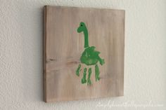 Simply Beautiful By Angela: DIY Dinosaur Handprint Art Today is the day, I'm so excited! I started working on Tristan's big boy dinosaur room this summer and got most of it put together in September. Well now I'm finally done with the DIY t Boys Dinosaur Bedroom, Dinosaur Room Decor, Dinosaur Nursery, Dinosaur Decorations, Dinosaur Kids Room, Dinosaur Dinosaur, Big Boy Bedrooms, Baby Boy Rooms, Kids Bedroom