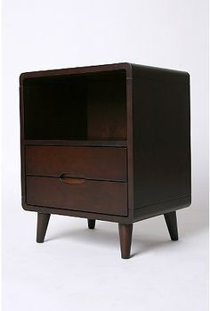 Danish Modern Storage Side Table - UO has some remarkably appealing furniture