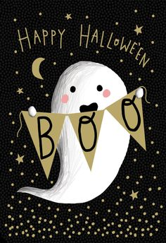 'Boo Who' - Halloween card template you can print or send online as eCard for free. Personalize with your own message, photos and stickers. Spooky Halloween, Halloween Bonito, Halloween Quotes, Holidays Halloween, Vintage Halloween, Happy Halloween, Halloween Decorations, Halloween Makeup, Cute Fall Wallpaper
