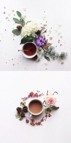 Fancy a beautiful cup of tea ? Julia  who lives on the South Coast of England loves morning tea, sassy shapes, fresh flowers and all ...
