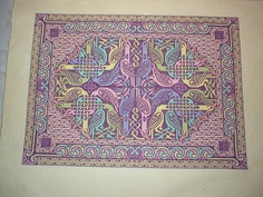 Dover Celtic design cross stitched by andreaz on Flickr #crossstitch #needlepoint