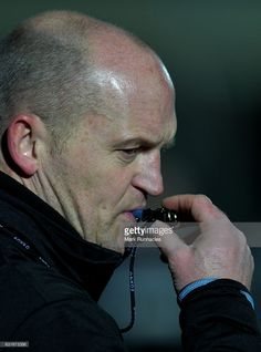 Glasgow Warriors head coach Gregor Townsend during the European Rugby Champions Cup match between Glasgow Warriors and Munster Rugby at Scotstoun Stadium on January 14, 2017 in Glasgow, United Kingdom.