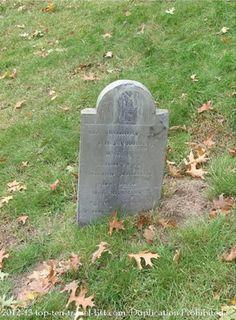 An old gravestone in #Salem, Massachusetts  #history