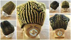 Wendemütze & Stulpen Hats, Fashion, Brioche, Wrist Warmers, Breien, Patterns, Moda, Hat, La Mode