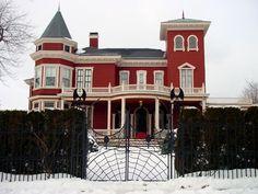 Stephen King's home in Bangor, Maine