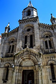Iglesia Parroquial Castrense de San Andrés (A Coruña - Spain)