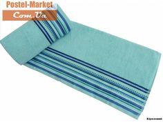 Махровое полотенце Line Altinbasak бирюзовое. в интернет магазине Постель Маркет ( Киев, Украина )