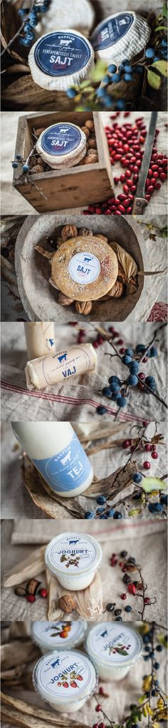 Maszlik Farm. Real dairy for real people. #packaging #design (More design inspiration at www,aldenchong.com)